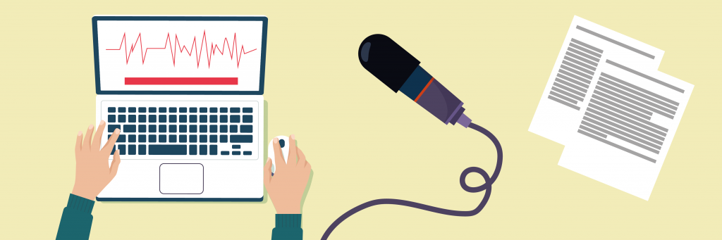 Voice over text – what is it and what's your goal?