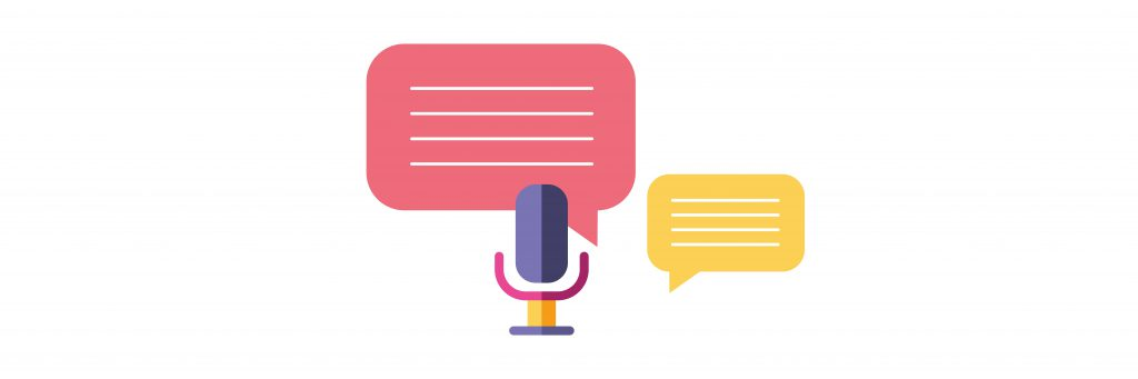 podcast-marketing-microphone-with-voice-bubbles