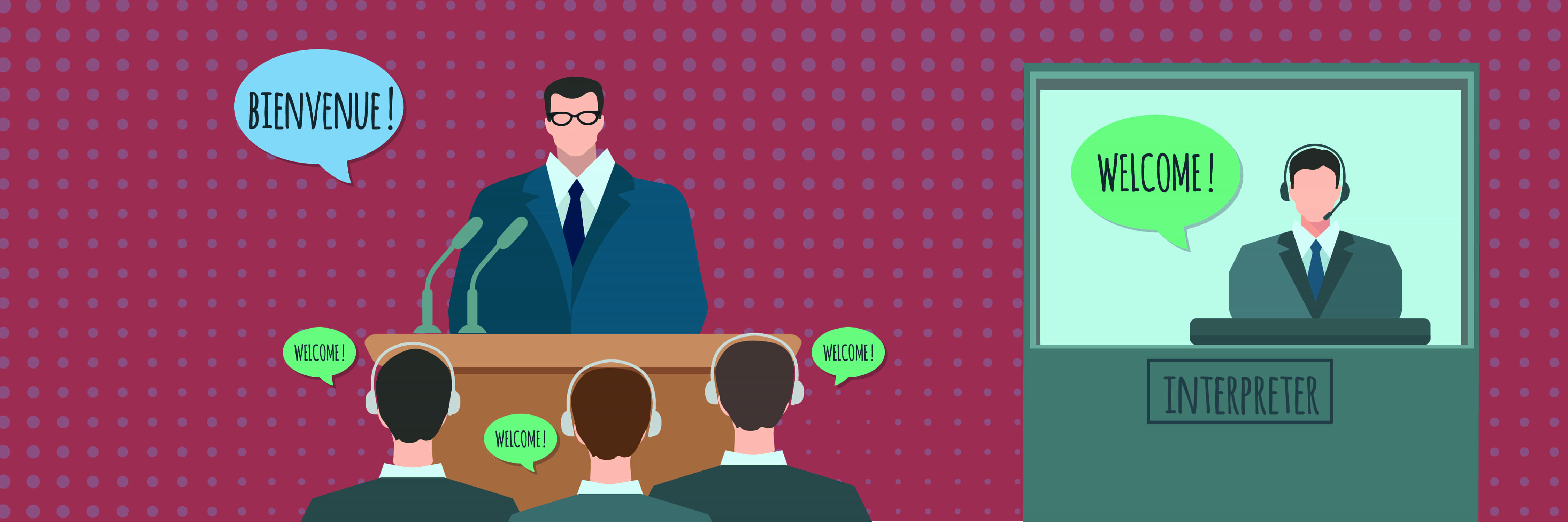 simultaneous interpretation language translation