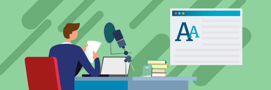 E learning narration for teachers