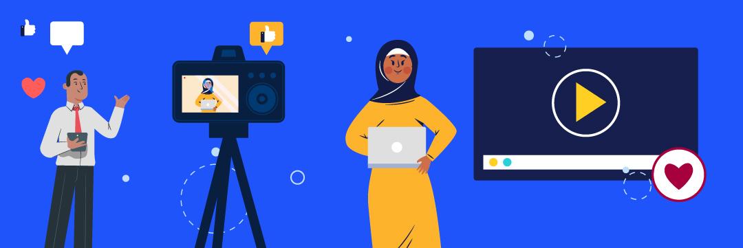 Online video advertising for marketing