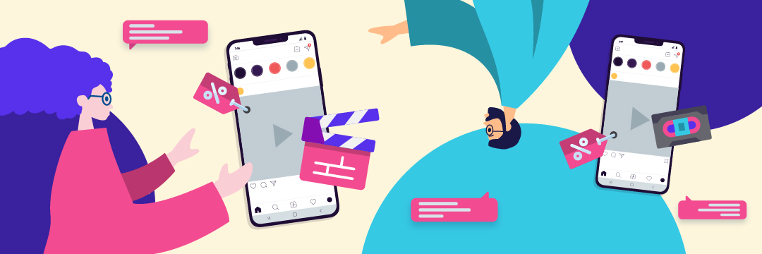 Instagram video ads for content creation