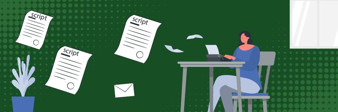 Freelance script writing for content creators