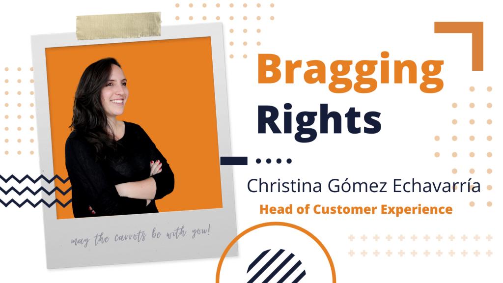 Bragging Rights: Christina Gómez Echavarría, Head of Customer Experience at Bunny Studio