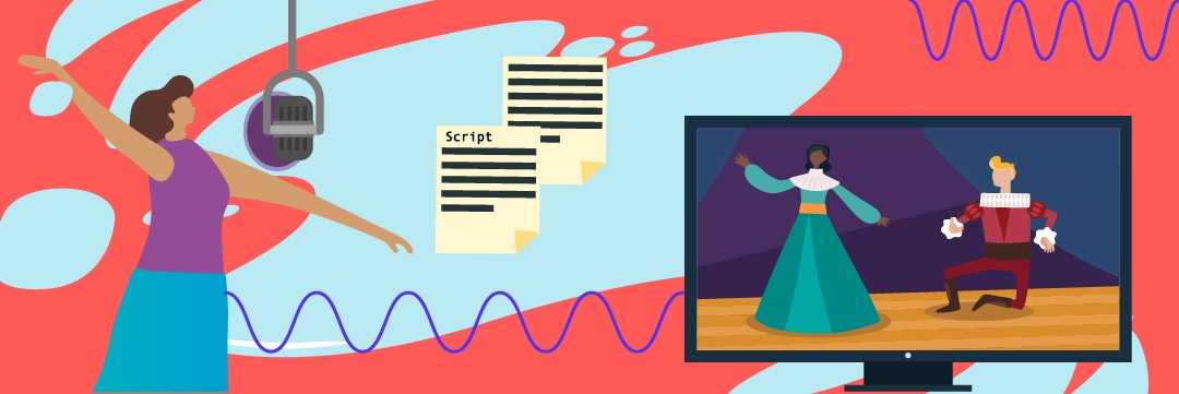 Voice Application sample script for voice overs