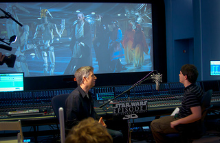 Voiceover recording star wars